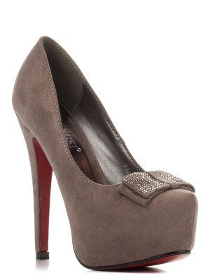 Туфлі сірі | 3845657