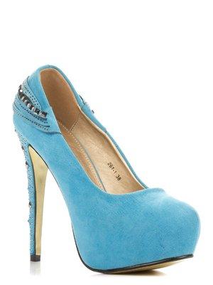 Туфлі блакитні | 3845659