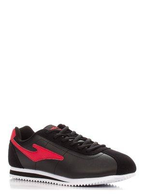 Кроссовки черно-красные | 3845451