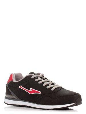 Кросівки чорно-червоні | 3845454