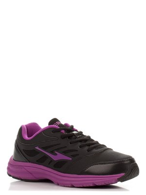 Кросівки чорно-бузкові | 3845462