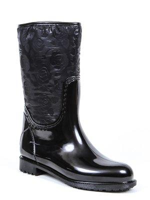 Сапоги черные   3091335