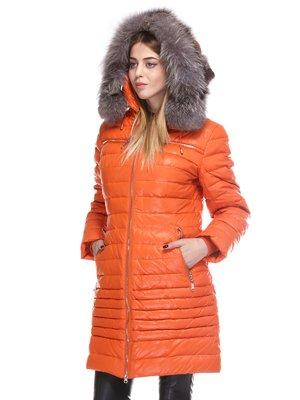 Пальто оранжевое | 3845075