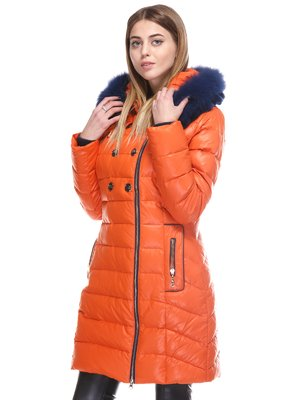 Пальто оранжевое | 3845076