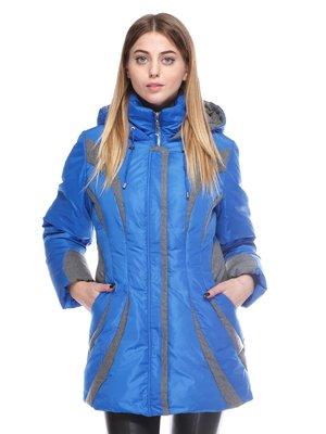 Пальто синее | 3845058