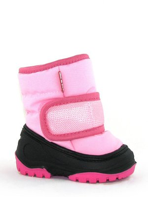 Полусапожки розовые утепленные | 3848857