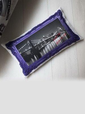 Наволочка декоративна на блискавці (30х50 см) | 3802261