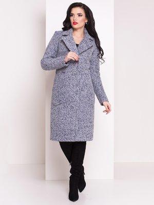Пальто сіро-блакитне | 3843912