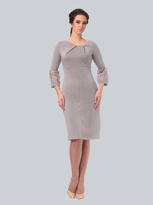 Платье серое | 3851846