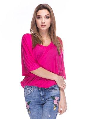 Блуза кольору фуксії | 3044998