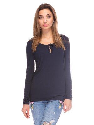 Блуза синяя | 3844713