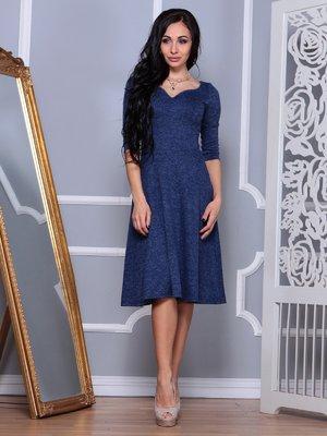Платье синего цвета | 3853825