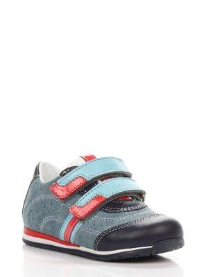 Туфли серо-синие | 3844502