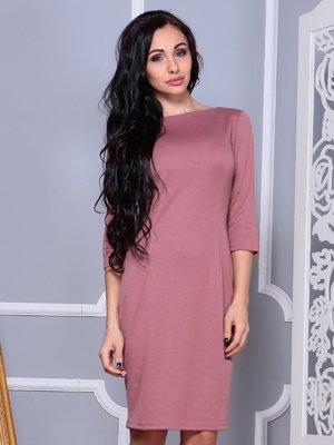 Платье цвета розовой дымки | 3858516
