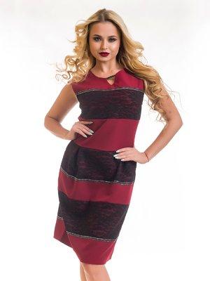Сукня бордова | 3862594
