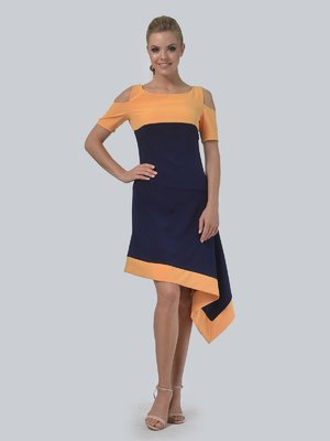 Сукня двоколірна | 3744448