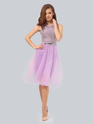 Платье двухцветное | 3834972