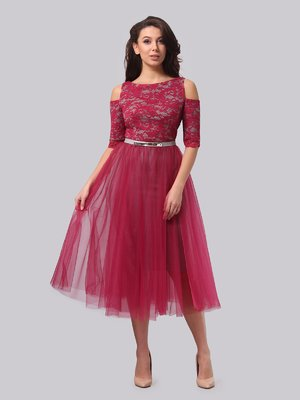 Платье цвета фуксии   3851923
