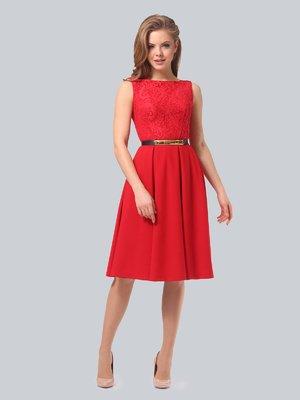 Платье красное | 3863263
