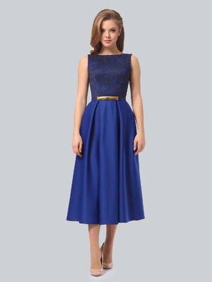 Сукня кольору електрик | 3863270
