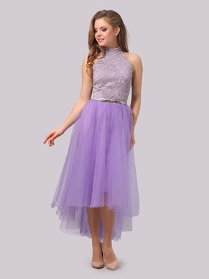 Платье сиреневое | 3863276