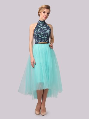 Платье мятного цвета | 3863277