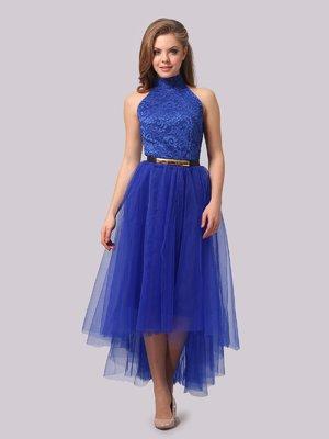Сукня кольору електрик | 3863282