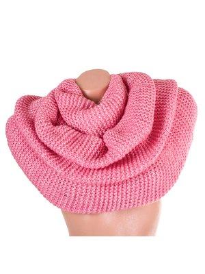 Шарф-хомут рожевий вовняний   3866746
