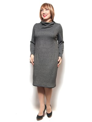 Платье серое | 3866772
