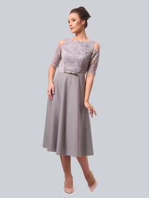 Платье серое | 3863322