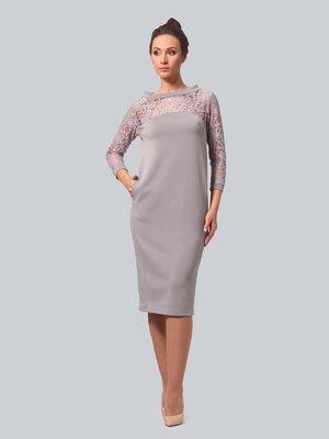 Сукня сіра | 3863334