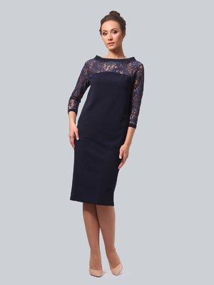 Сукня темно-синя | 3863337