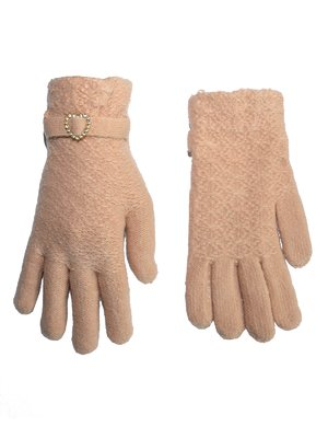 Перчатки бежевые | 3866248