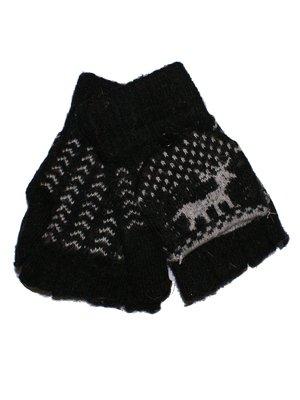 Перчатки-трансформеры черные | 3866257