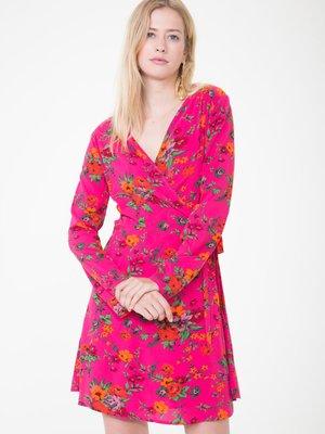 Сукня рожева у квітковий принт | 3786787