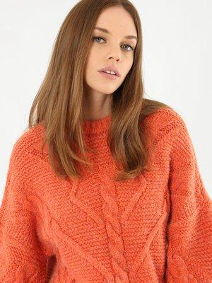 Джемпер оранжевый | 3786912