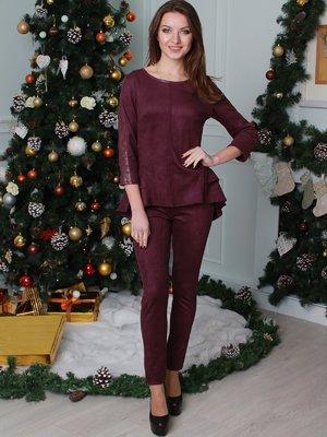 Костюм: блуза и брюки | 3870507