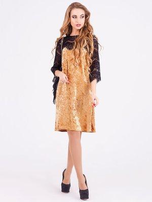 Платье золотистое | 3871203