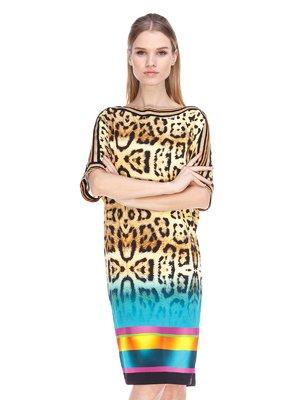 Сукня анімалістичного забарвлення | 3858935