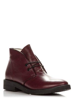 Ботинки бордовые | 3831154