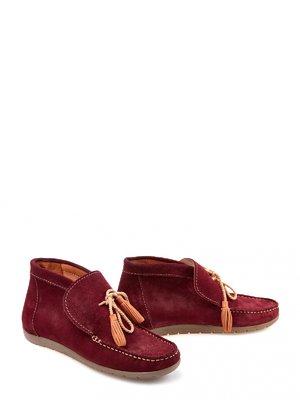 Ботинки бордовые | 3873667