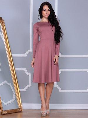 Платье цвета розовой дымки | 3876130