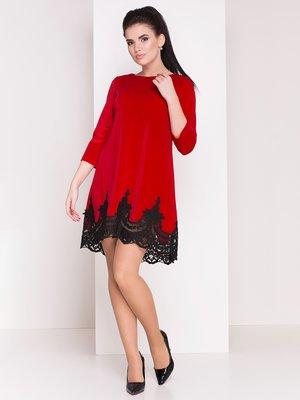 Платье красное | 3876092