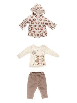 Комплект: куртка, кофта, штани | 3867013