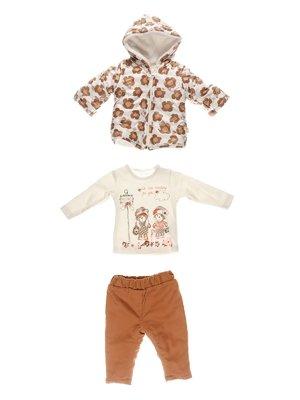 Комплект: куртка, кофта, брюки   3867014