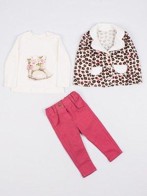 Комплект: жакет, реглан и брюки | 3877566