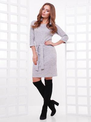Сукня сіра меланжева | 3878887