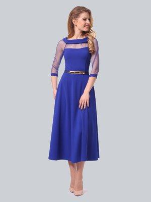 Сукня кольору електрик | 3879720