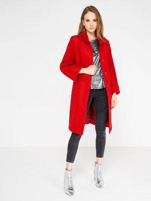 Пальто красное | 3606580