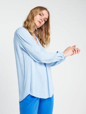 Блуза светло-голубая | 3856463